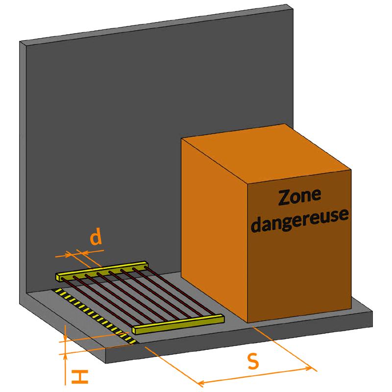 Illustration Barrière H