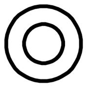 Symbole Concentricité